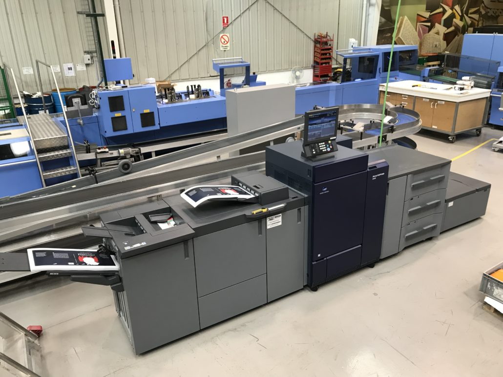 Konica Minolta biz hub press C1070P